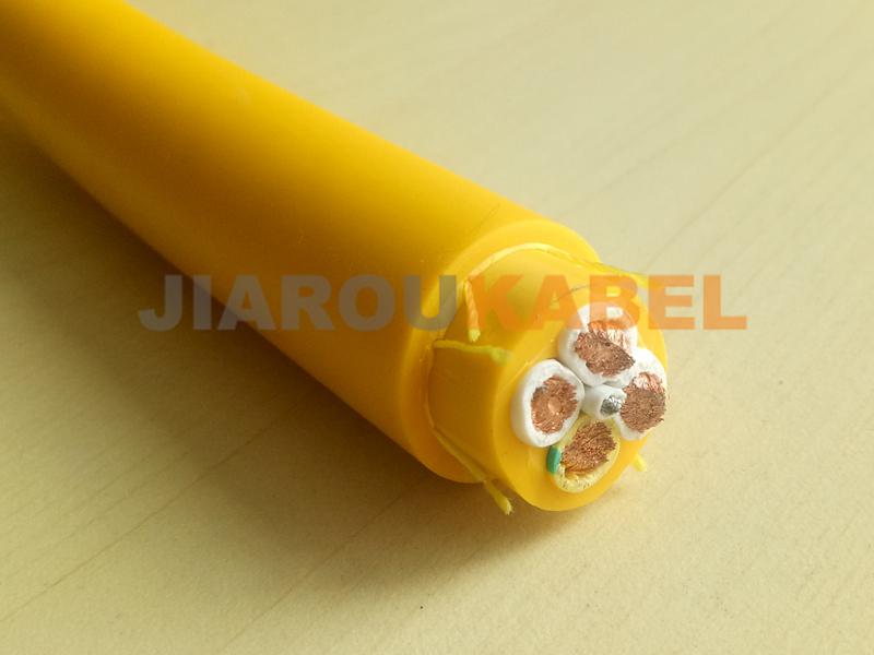 带钢丝设计加强结构新型RVV-NBRG卷筒电缆