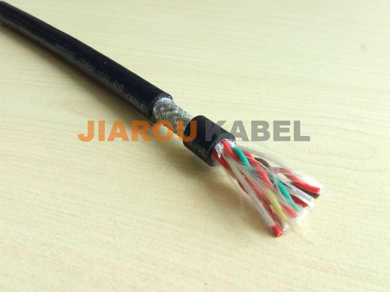 聚氨酯拖链电缆(双绞屏蔽型)