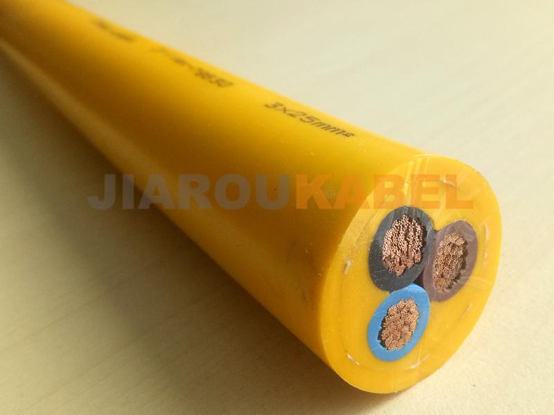 滚筒电缆(柔性耐磨抗拉型)